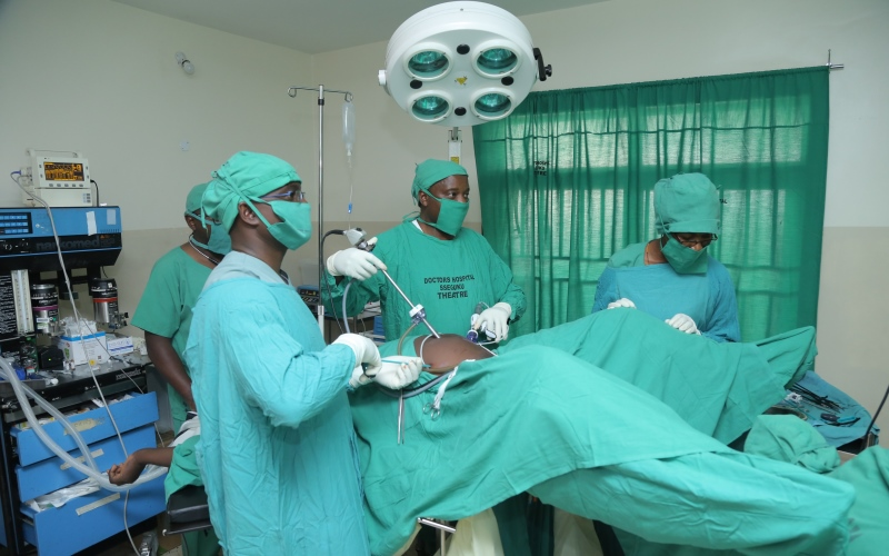 Well equipped  Operating theatre at one of our clients